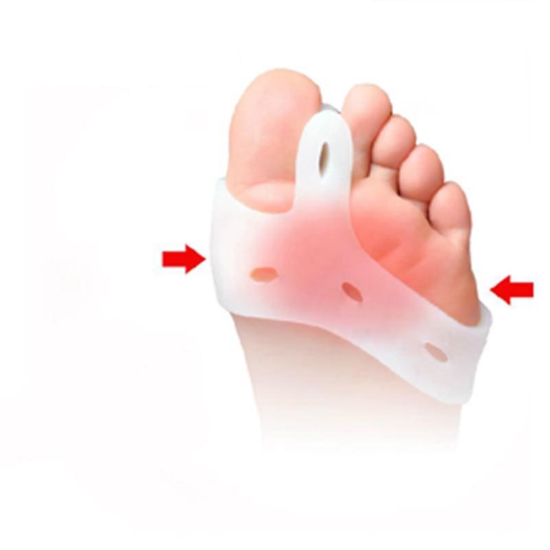 25pairs Toe Separator Pedicure Gel Toe Hallux Valgus Bunion Protectors Splint Spacer Alignment Straightener Corrector For Toes