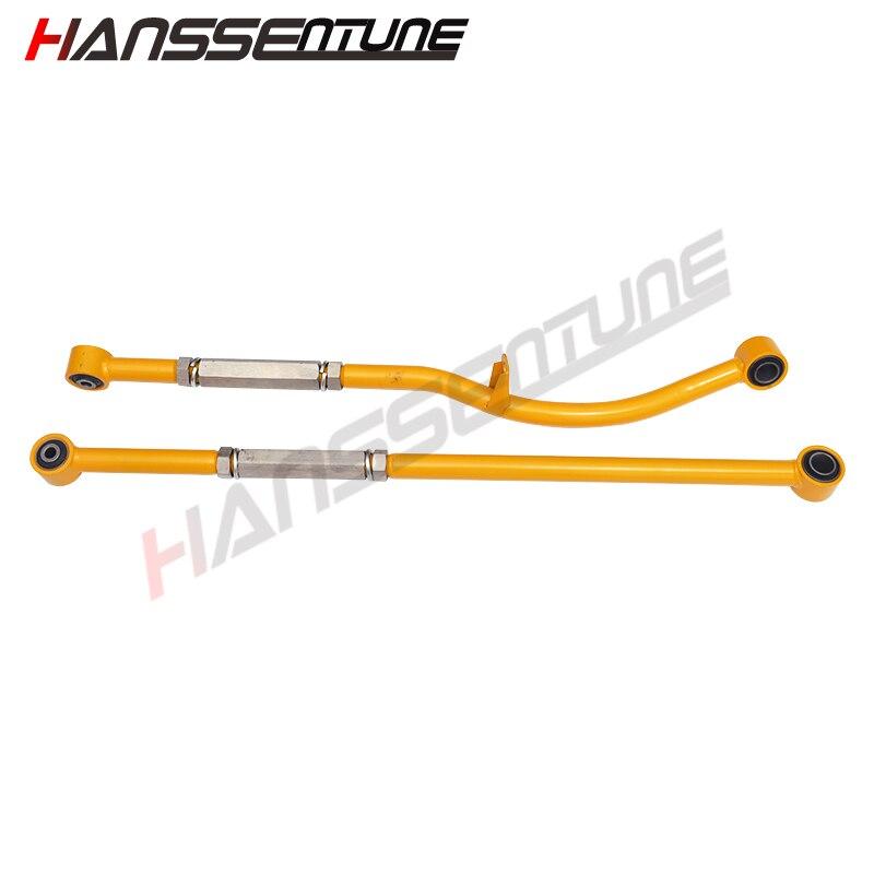 HANSSENTUNE 4x4 adjustable suspension rear and front panhard rod Fit For patrol Y60 Y61