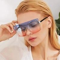rimless sunglasses for women luxury brand designer rimless vintage rectangle sun glasses female gradient uv400 oculos de sol new