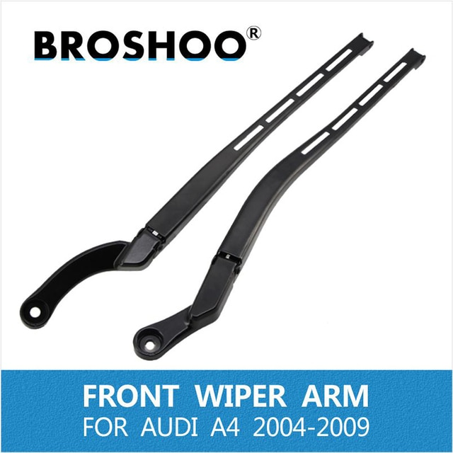 BROSHOO car auto parts wiper for Audi A4 B6 B7 S4 RS4 2004-2009 Left/right windshield wiper arm replacement rocker arm