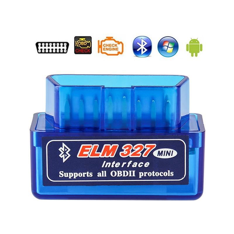 ELM327 Bluetooth V1.5 OBD2 Car Diagnostic Tool For Lada Kalina Priora Niva Vaz Granta Samara 2110 2114 Largus 2109 2115 2112