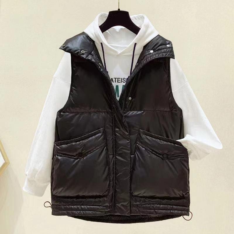 Дешевая оптовая продажа 2021 Весна Осень Зима Новая Женская мода Повседневная Милая теплая Женская жилетка верхняя одежда BVy187