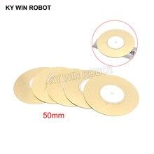 10 Pcs Piezoelectric Piezo Ceramic Wafer Plate Buzzer Loudspeaker Dia 50mm For Arduino Diy Electro