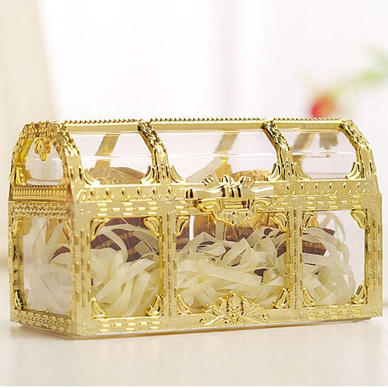 12 шт. креативная пластиковая коробка для конфет, свадебные винтажные коробки для конфет, подарочные коробки для шоколада, коробки для подар...