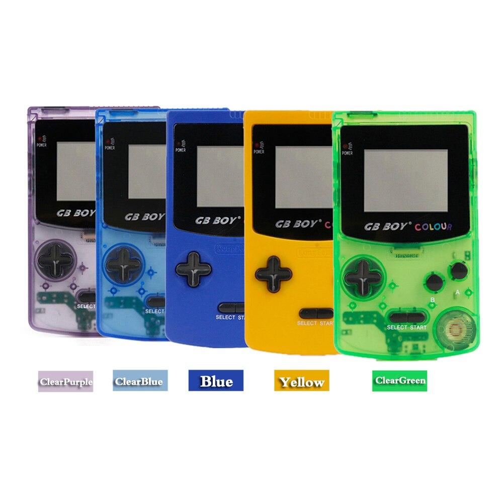 Портативная портативная игровая консоль GB Boy, 2,7 дюйма, цветная Классическая игровая консоль в стиле ретро с подсветкой, 66 встроенных детски...