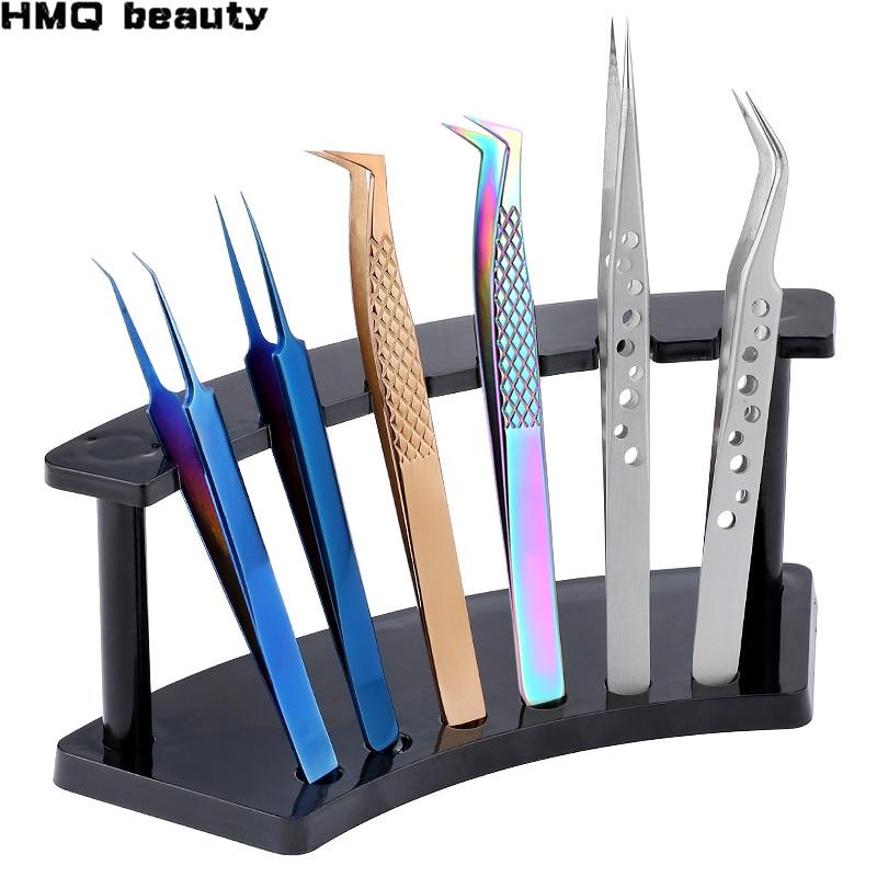 1 комплект щипцы для ресниц держатель для хранения ручка для наращивания ресниц инструмент для хранения акриловый держатель стоячая ресница инструменты для посадки