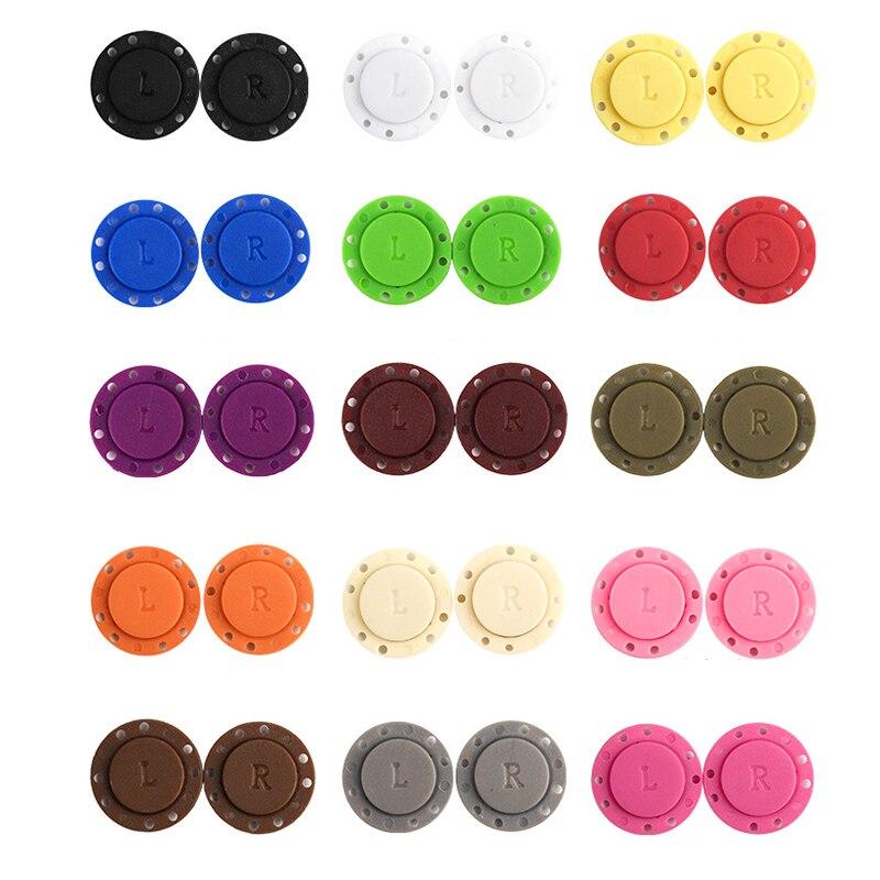 Invisível magnético prendedores botão conjunto bolsa carteira sacos de costura acessórios hogard