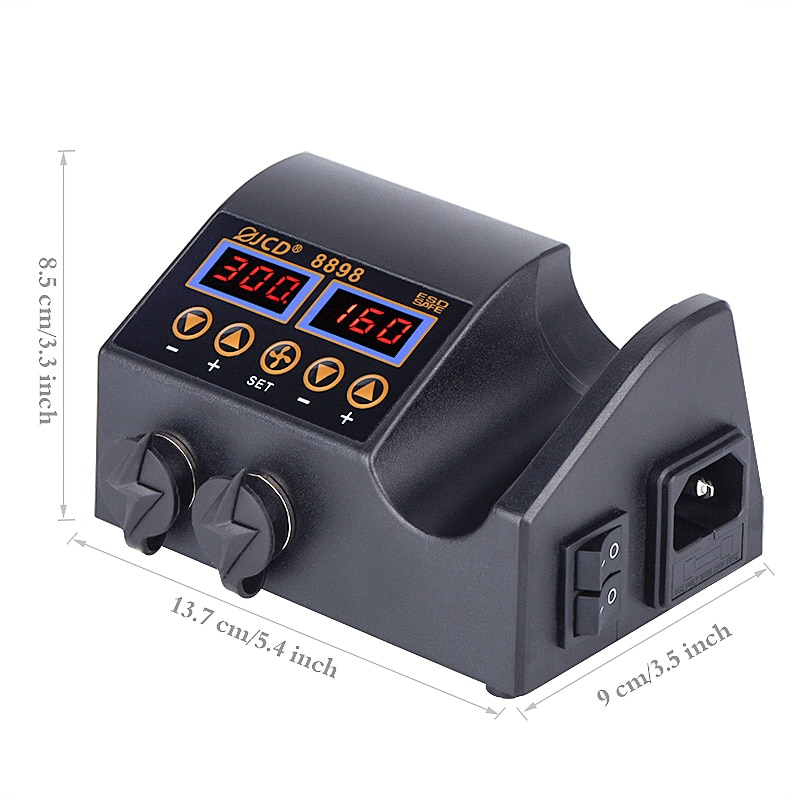 Pistola de aire caliente 2 en 1 de 750 W con pantalla digital LCD, - Herramientas eléctricas - foto 5