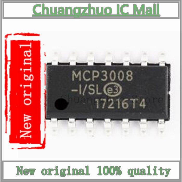 1 unids/lote MCP3008-I/SL MCP3008 SOP-14 IC Chip original nuevo