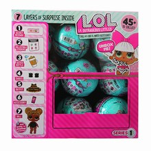 L.O.L.SURPRISE!  lol dolls Surprise toys Beautiful Hair Doll Generation DIY Manual Blind Box Model Doll Toy Gift Sent random