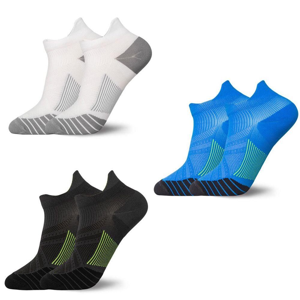 Anti-sweat Unisex Short Socks Adult Elite Tube Breathable Outdoor Sport Running Basketball Football