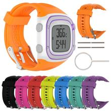 8 Colors Silicone Bracelets Strap Band Watch Replacement For Garmin Forerunner 10 15 Sports Wrist Ba