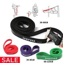 "41 ""Resistance Bands Natuurlijke Latex Rubber Expander Power Crossfit 208 Cm Yoga Rubber Loop Band"