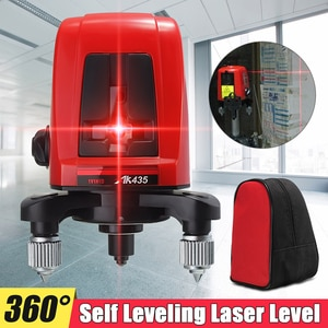 Portable Levels Meter Self-leveling 2 Line 1 Point Mini Cross Red Light Pitcher High Precision Infrared Laser Device