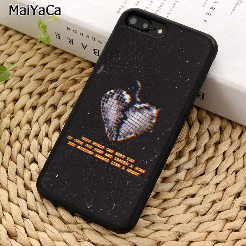Maiyaca miley cyrus capa para celular popular, detalhada, para iphone 5 6 7 8 plus 11 pro x xr xs samsung s7 s8 s9 s10 max