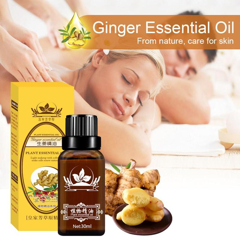 30ML Plant Therapy Lymphatic Drainage Ginger Oil Natural Anti Aging Essential Oils SPA Body Massage Oil essential Oil  #pp недорого