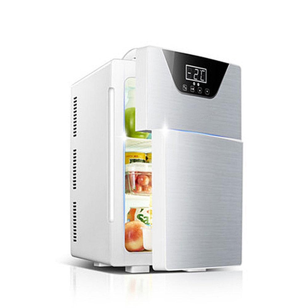 Двухдверный морозильник 20 л, электрический холодильник, холодильник для дома, общежития, аренда, холодильник двойного назначения, холодиль...