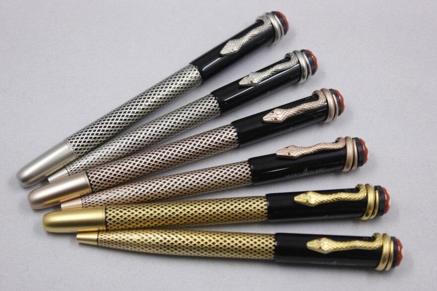 Wakaka Mon inheritance serisi makaralı tükenmez kalem yılan klip tükenmez Blanc mürekkep kalem