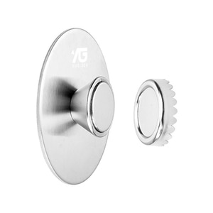 Creative Magnetic Soap Holders Bathroom Wall Hanging Soap Box Suction Cup Rack Silver Magnetic Soap Holder