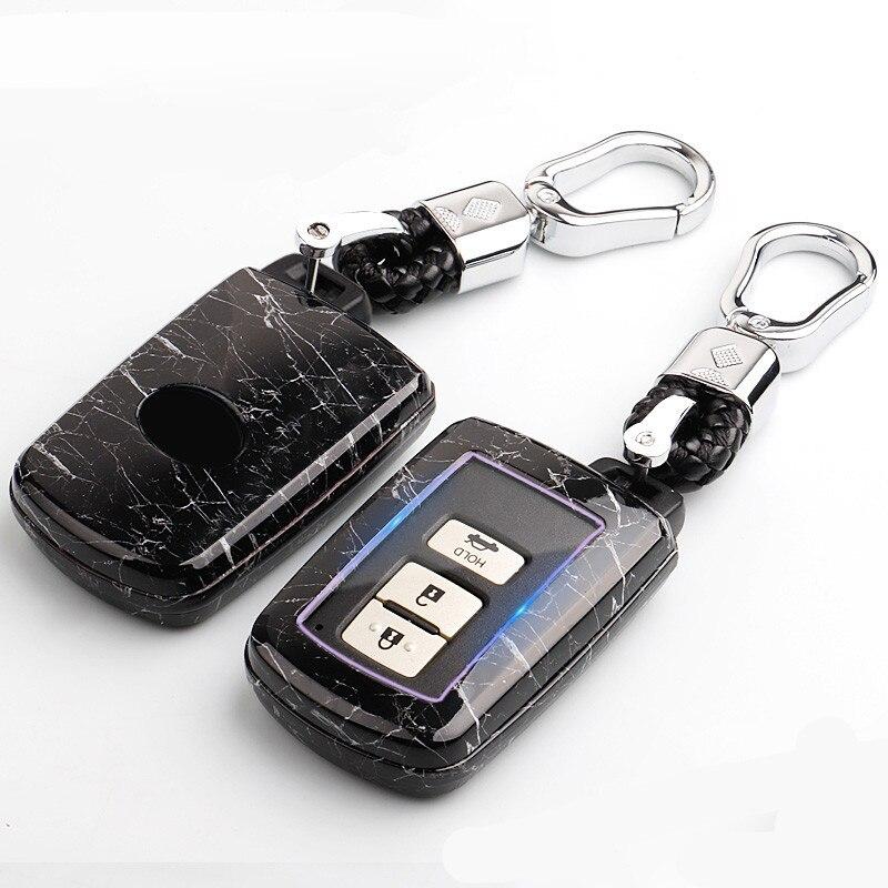 Car key case for toyota chr hilux rav4 auris aygo vitz highlander aqua prado camry 2018 verso corolla prius land cruiser crown
