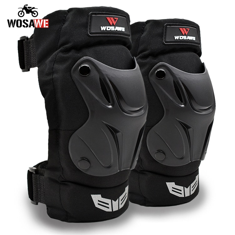 WOSAWE Motorcycle Elbowpads and Kneepads Skiing Snowboard Volleyball Hockey knee guard Arm Guard Protective Gear Adult enlarge