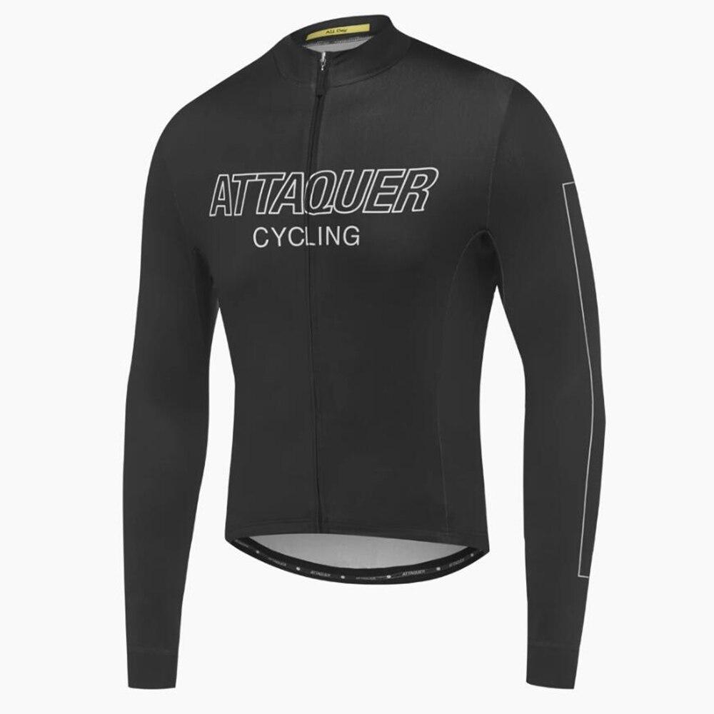 Nuevo Attaquer equipo primavera otoño Manga Larga Jersey ciclismo negro 2021 MTB...