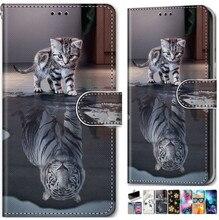 Man Lady Pattern Stand Phone Bag For Cover LG K20 K30 2019 K40S K50S Q70 X2 Leather Flip Wallet Card Pocket Case Cat Tiger O08F