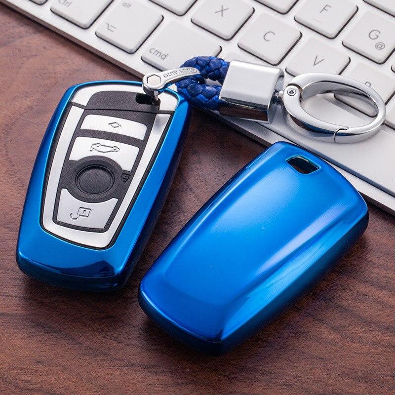 For BMW E30 E34 E36 E39 E46 F10 F11 F31 G30 M Performance X1 F48 X3 X4 X5 Car Accessories Car Styling TPU Car Key Cover Case Fit