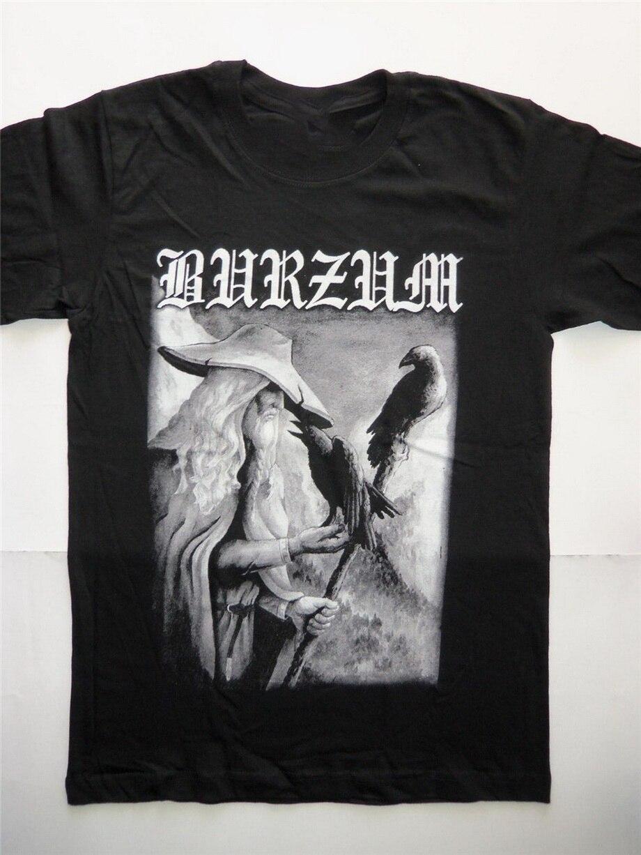 1BURZUM T Shirt Dark Funeral Darkthrone Mayhem Emperor Bathory Filosofem Aske Fashion T-Shirts Fitness O Neck Top Tee