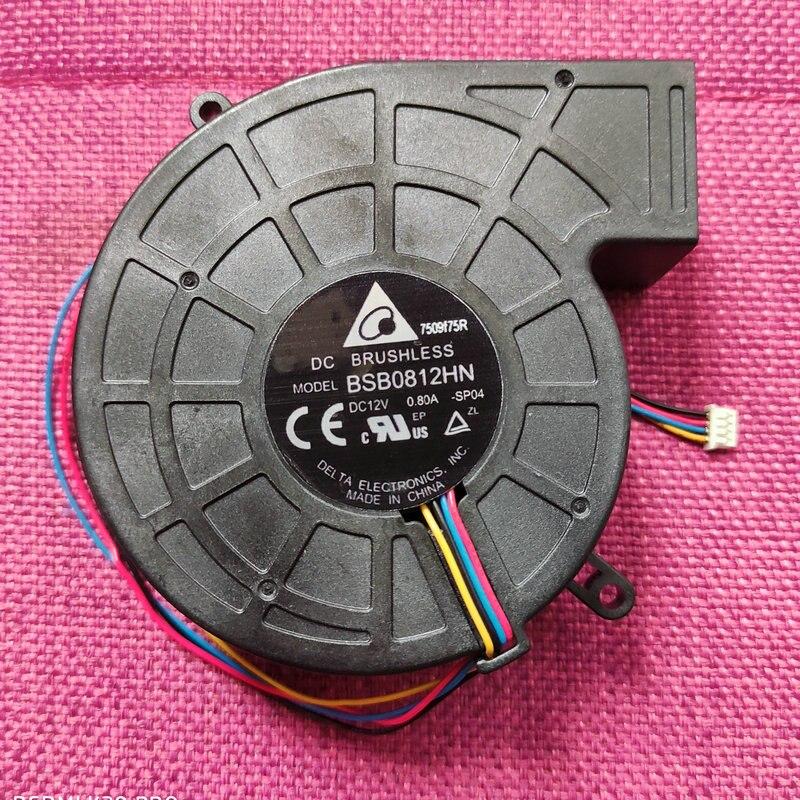 جديد الأصلي BSB0812HN SP04 DC12V 0.80A 80*25 مللي متر 4 خطوط العارض منفاخ مروحة التبريد