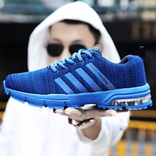 New Men air Running Shoes Breathable Outdoor Sports Comfortable Athletic Training Footwear Shoes Lig