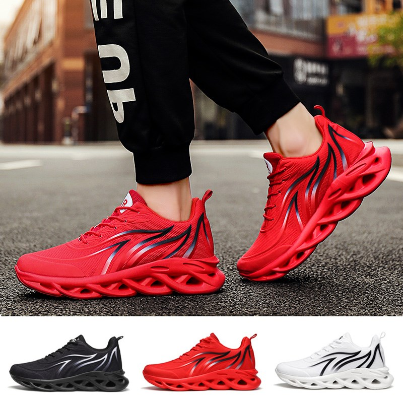 Men Free Running Shoes Fashion Outdoor Sports Shoes High-quality Lace-up Athietic Breathable Blade Sneakers