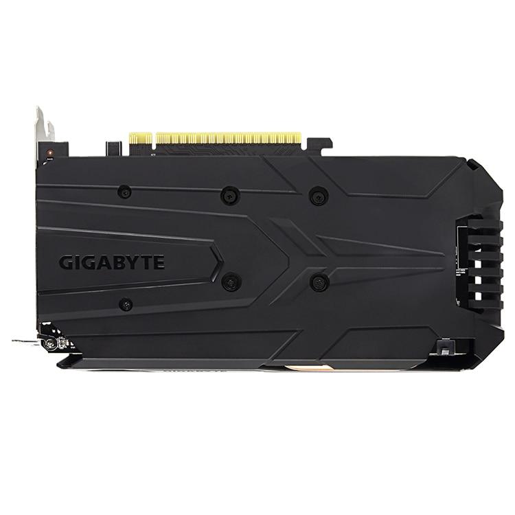 GIGABYTE NVIDIA GTX 1050 Ti Windforce OC 4G with 4GB GDDR5 128bit Memory Support Over Clocking Graphics Card GPU