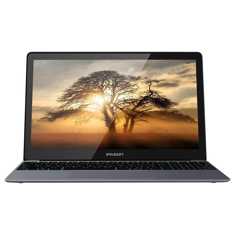 IPASON Laptop P1 15.6-inch IPS Convenient Notebook Computer Business Office Student Quad-Core J4125 Portable Internet Ultrabook 6