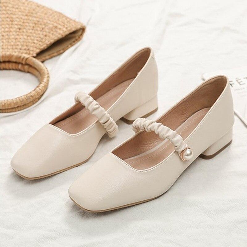 الإناث مضخات عارية الفم الضحلة النساء أحذية موضة مكتب العمل الزفاف أحذية الحفلات السيدات منخفضة الكعب أحذية امرأة الصيف 2021