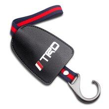 Universel voiture arrière siège arrière crochets organisateur cintre pour sac tissu voiture multifonction voiture pour Toyota TRD corolla chr avensis yaris