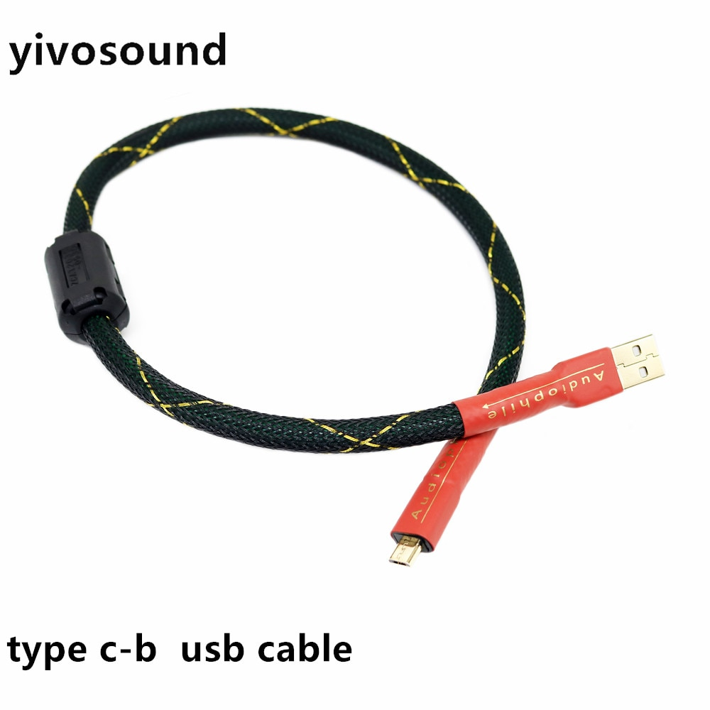 Hifi DIY Micro USB Cable USBType A To Micro USB Audio Data Cable