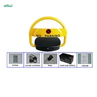 remote control automatic car parking space lock car parking lock barrier