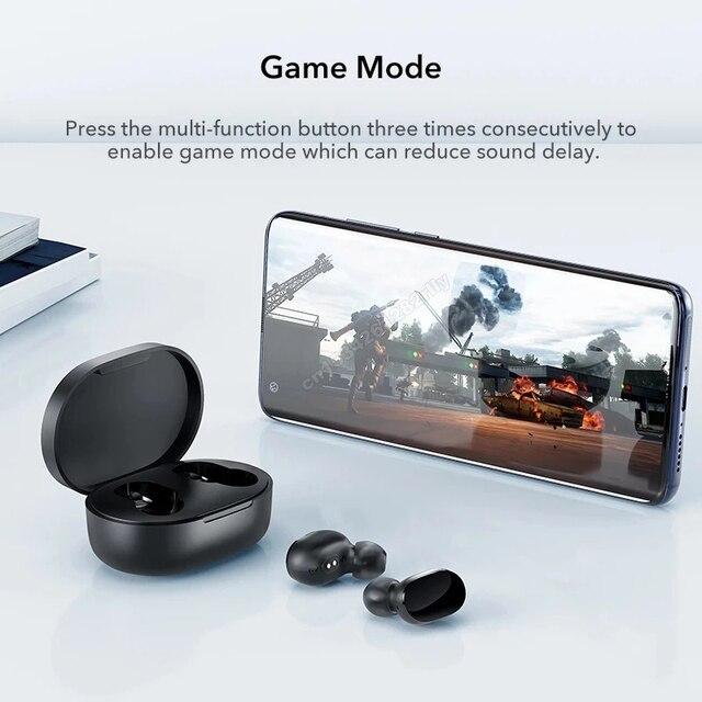 Original Xiaomi Redmi Airdots 2s Earphone Mi True Wireless Earbuds Basic 2s Bluetooth 5.0 Air2SE TWS Microphone Gaming Earphones 2
