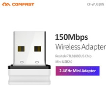 Mini adaptateur WIFI USB Wifi antenne WIFI 150Mbps RTL8188EU récepteur wi-fi sans fil wi-fi wi-fi dongle signal émetteur carte réseau