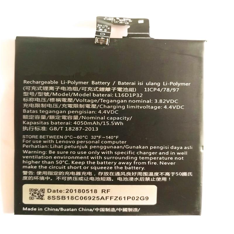 Batería de repuesto de alta calidad 4050mAh L16D1P32 para LENOVO PB2-670N batería de ion de litio con herramientas de reparación para regalo