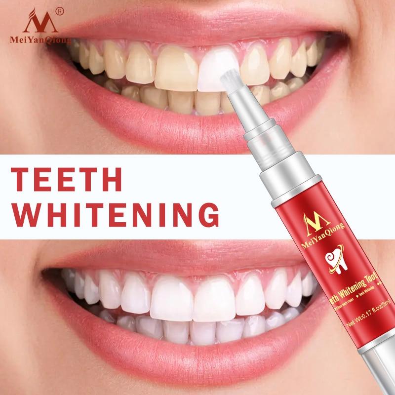 Teeth Whitening Pen White Teeth Cleaning Serum Oral Hygiene Essence Remove Plaque Stains Dental Bleaching Cleaning Teeth 5ml