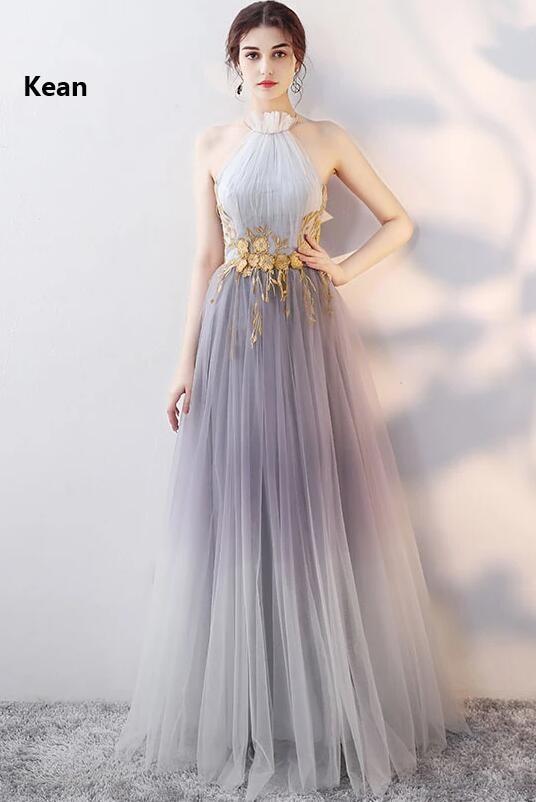 Купить с кэшбэком High neck Muslim Evening Dress Tulle Pleat Applique Lace Up Islamic Dubai Kaftan Saudi Arabic Evening Gown Prom Dress