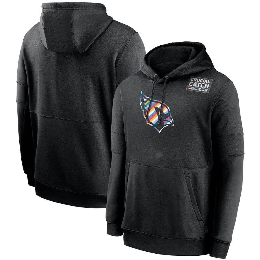 أريزونا الرجال هوديس الكاردينال البلوز حاسمة الصيد هامش الرياضة البلوز كرة القدم الأمريكية جودة غطاء رأس أسود الملابس