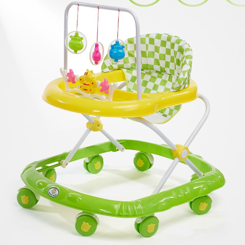 Infant and child baby walker 6/7-18 months anti-rollover multifunctional scooter with music toy car enlarge