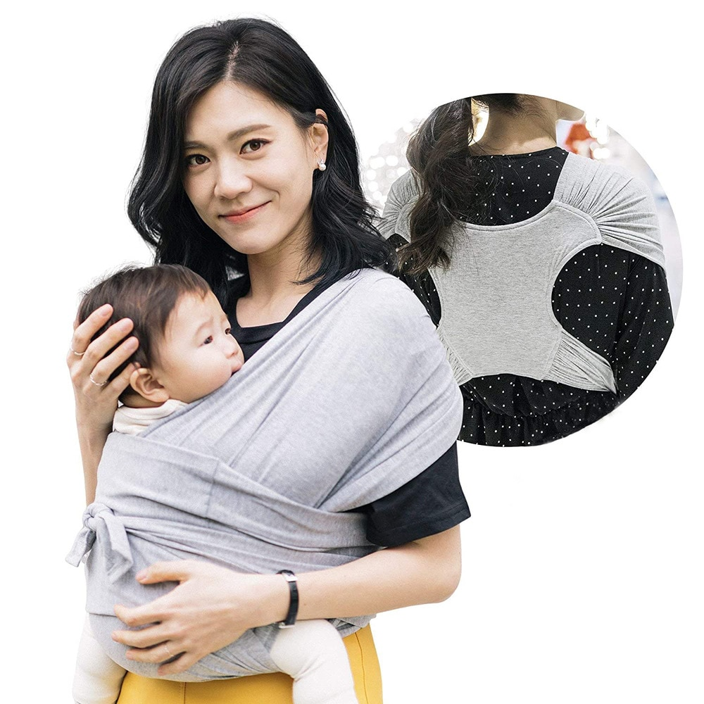 Baby Carrier Sling Wrap Multifunctional Four Seasons Universal Front Holding Type Simple X-shaped Carrying Artifact Ergonomic