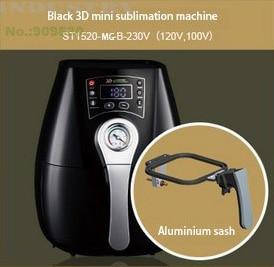 3D الحرارة آلة نقل القدح/الهاتف حالة ST-1520-MG 3D التسامي القدح آلة الطباعة 3D الحرارة الصحافة آلة