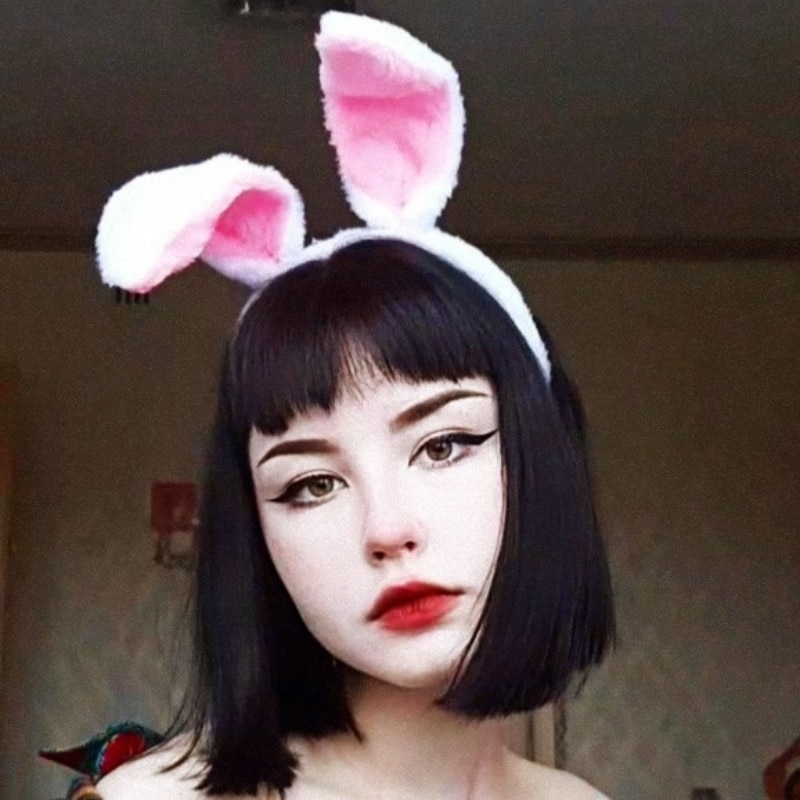 Easter Adult Children Girls Cute and Comfortable Hairband Rabbit Ear Headband Dress Costume Bunny Ear Hairband Hair Accessories 2019 sell like hot professional easter bunny mascot costumes rabbit and bugs bunny adult mascot for sale