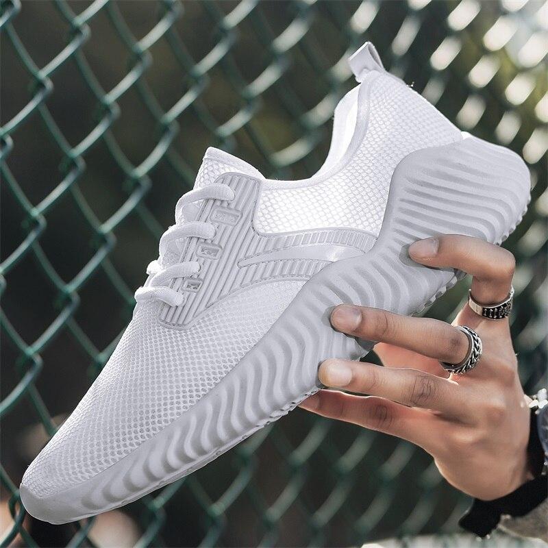 39-46 de talla grande zapatillas de correr para hombre de moda Zapatillas de deporte para Hombre Zapatos Deportivos transpirables para exterior confort Atlético entrenamiento calzado