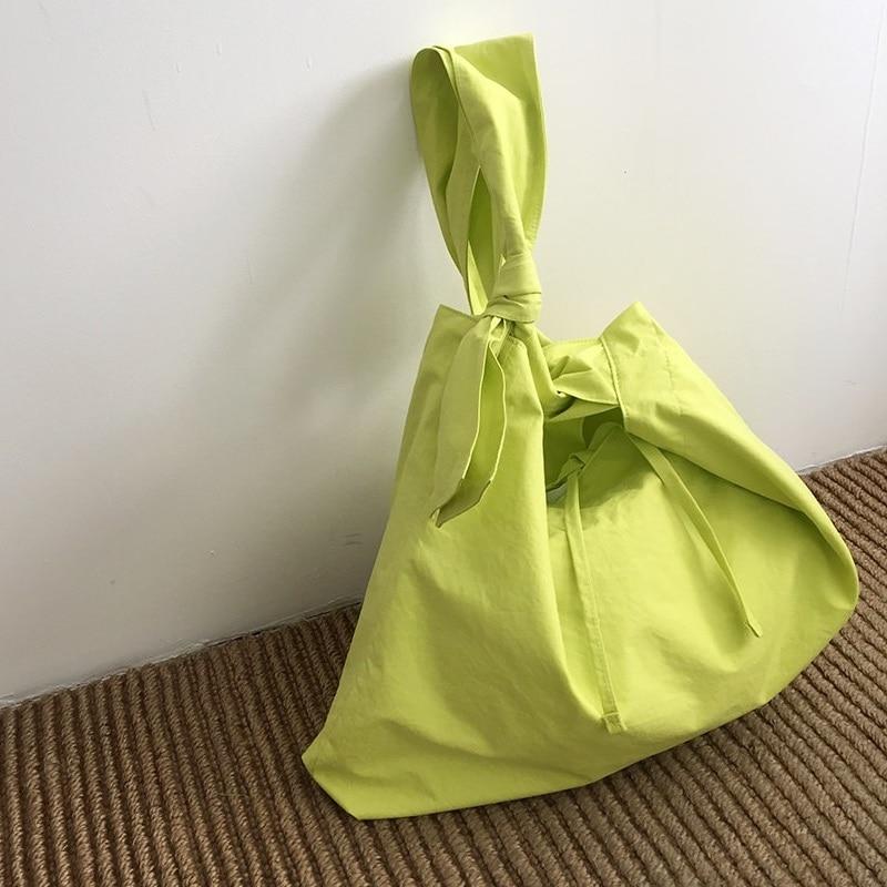 Korean style canvas women handbag Large capacity 2020 Summer new Shoulder bags Casual travel bag Shopping bags ladies big totes